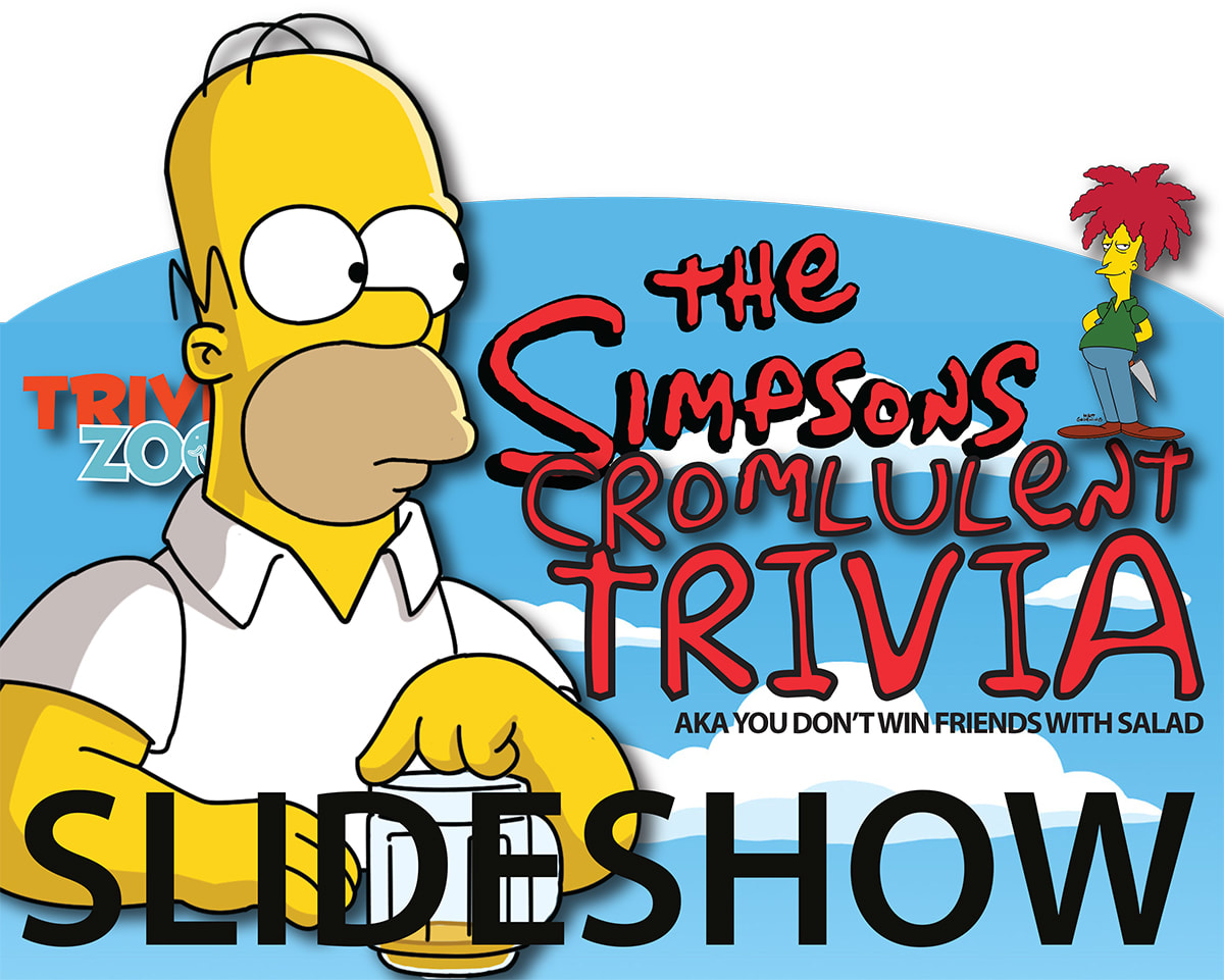 trivia zoo the simpsons cromulent slideshow quiz big screen trivia